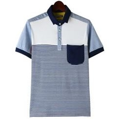 TOKIO - Stripe Polo Shirt
