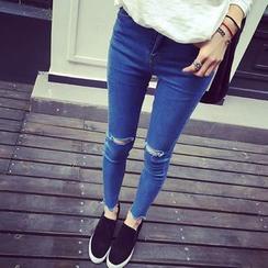 EEKO - Distressed Skinny Jeans