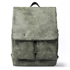 Mr.ace Homme - Faux-Leather Backpack