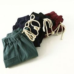 Ranche - Drawstring Harem Pants