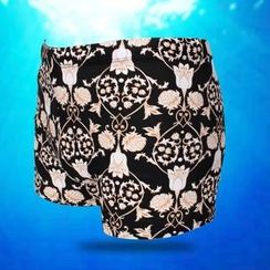Little Dolphin - Print Swim Shorts