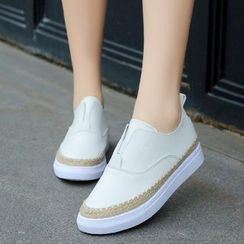 Yoflap - Faux Leather Slip-Ons