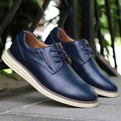 Van Camel - Genuine Leather Oxfords