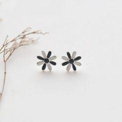 Love Generation - Floral Sterling Silver Earrings