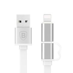 Papilio - iPhone/Android Phone 2in1 Charging Cable