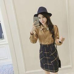 YOYO - Check Miniskirt