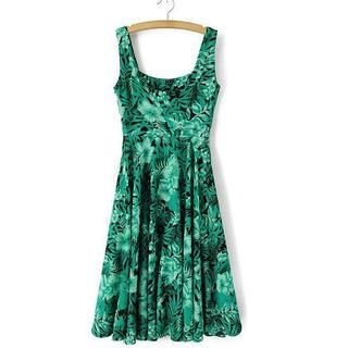 JVL - Floral Sleeveless Dress