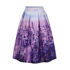 Flore - Floral A-Line Skirt