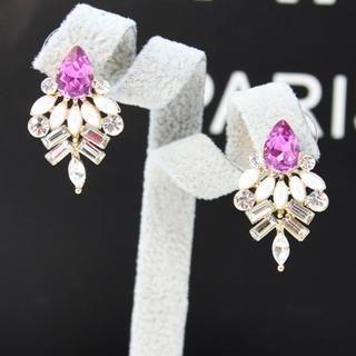 Supermary - Jeweled Drop Earrings