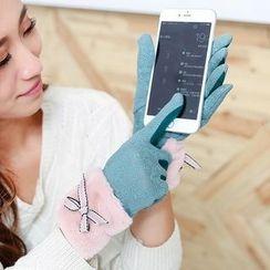 Ciroki - Bow Touchscreen Gloves