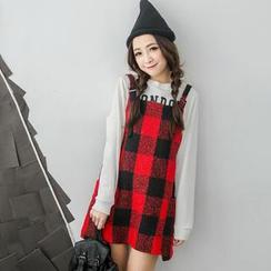 Tokyo Fashion - Check Jumper Dress