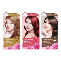 The Face Shop - Mild Bubble Perfume Hair Color (#8G Merry Gold Blonde) 90ml
