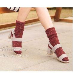 櫻桃兔兔 - 混色襪子