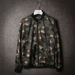 Esflow - Camouflage Light Bomber Jacket