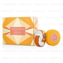 Bvlgari - Omnia Indian Garnet Coffret: Eau De Toilette Spray 40ml/1.35oz + Scented Soap 150g/5.3oz