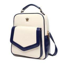 Princess Carousel - Patent Flap Backpack