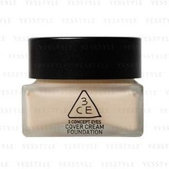 3 CONCEPT EYES - Cover Cream Foundation SPF 30 PA +++ (Light Vanilla)