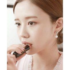 Miss21 Korea - Rhinestone Faux-Pearl Dangle Earrings
