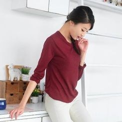 59 Seconds - Round Neck Long-Sleeve Top