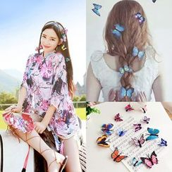 Sunset Hours - Butterfly Hair Clip