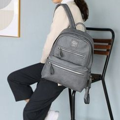 BABOSARANG - Faux-Leather Backpack