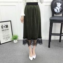 Romantica - Lace Midi Skirt