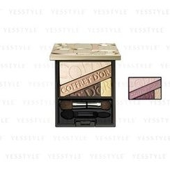 Kanebo - Coffret D'or Beauty Aura Eyes (#04 Bordeaux)