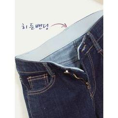 LOLOten - Fray-Hem Slim-Fit Jeans