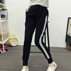 Cloud Nine - Stripe Sweatpants