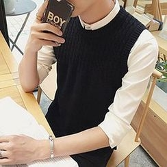Zeesebon - Cable Knit Vest