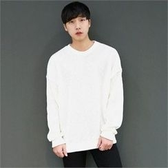 Smallman - Round-Neck Ribbed T-Shirt