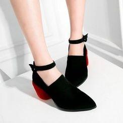 JY Shoes - Ankle Strap Pumps
