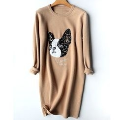 Helensky - Glitter Dog Knit Dress