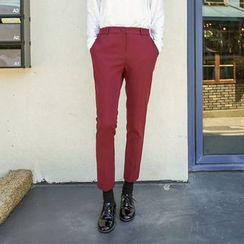 Seoul Fashion - Slim-Fit Dress Pants