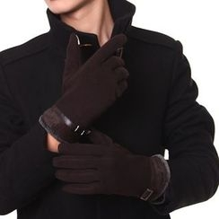 RGLT Scarves - Belted Fleece-Lined Gloves