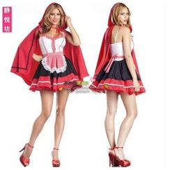 Cosgirl - Little Red Riding Hood Party Costume