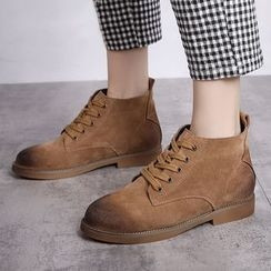 Ammie - Burnished Short Boots