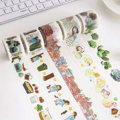 雲木良品 - 印花裝飾膠帶