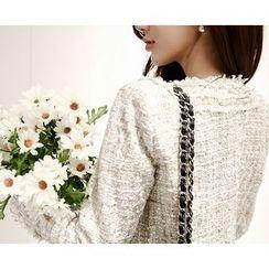Marlangrouge - Hook and Eye Tweed Jacket