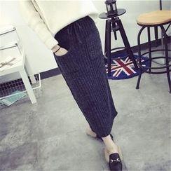 Florie - Knit Maxi Skirt