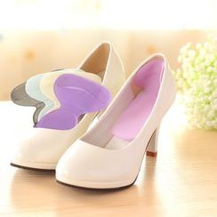 Yulu - 纯色鞋跟垫