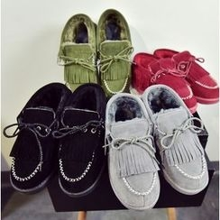 Simply Walk - Fringed Moccasins