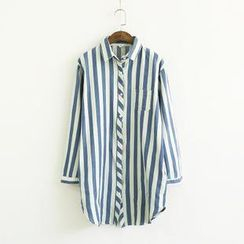 Ranche - Oversize Striped Shirt