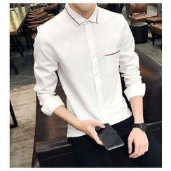 風森 - 條紋襯衫