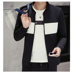 Fisen - Color Block Zip Jacket