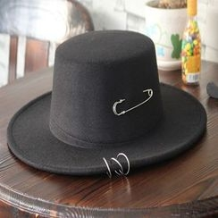 Hats 'n' Tales - Safety Pin Knit Fedora Hat