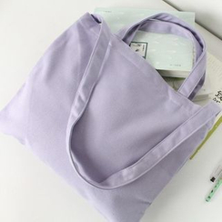 Ms Bean - Plain Canvas Shopper Bag