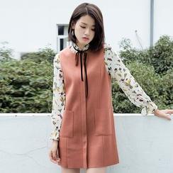 Dimosqisi - Wool Blend Sleeveless Dress