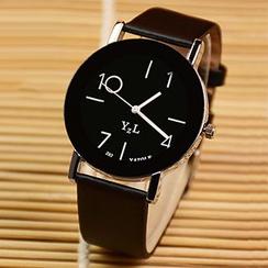 YAZOLE - 仿皮帶手錶