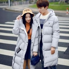 ZONZO - Couple Matching Hooded Padded Coat